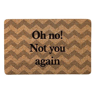 Create Your Own Doormat - Chevron - Serif