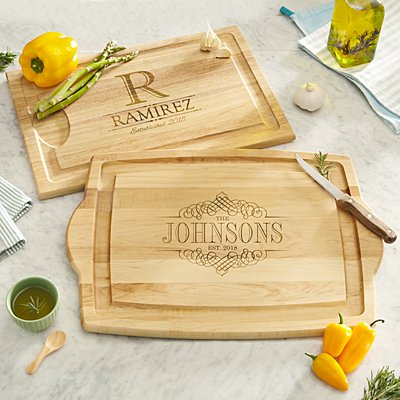 Decorative Name Wooden Chopping Board
