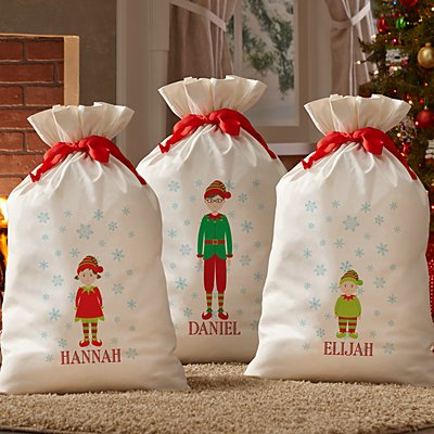 Dressed for Christmas Oversized Gift Bag
