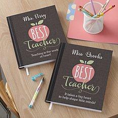 Favorite Teacher Notebook