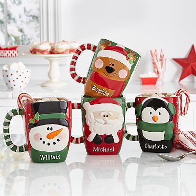 Festive Friends Christmas Mug