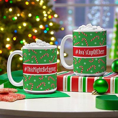 Hashtag Holiday Mug
