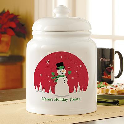 Holiday Happiness  Treat Jar