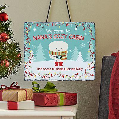 Lovable Marshmallow Holiday Slate