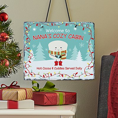 Lovable Marshmallow Holiday Slate