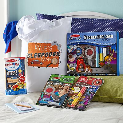 Melissa & Doug® Boys Sleepover Set