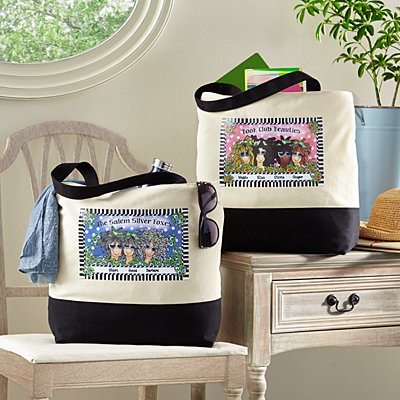 Name Your Sisterhood Tote Bag by Suzy Toronto