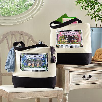 Name Your Sisterhood Tote Bag by Suzy Toronto
