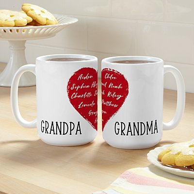 Our Hearts Are Full 15oz Mug Set