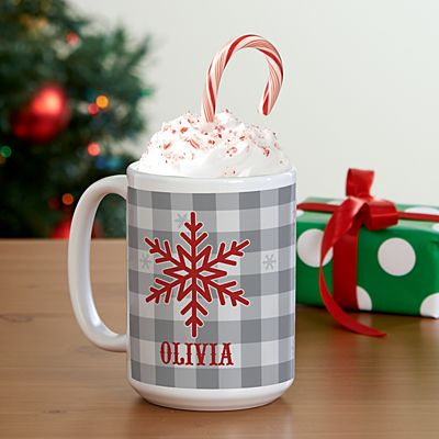 Snowflake Wishes 15oz Mug