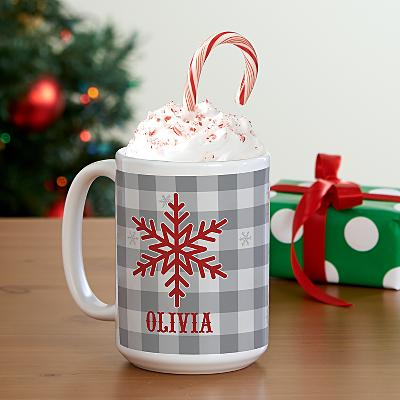 Snowflake Wishes Mug