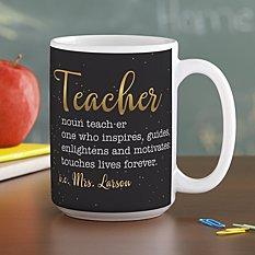 Teacher Meaning Mug