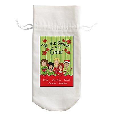 'Tis the Season with the Girls Wine Bag - 5
