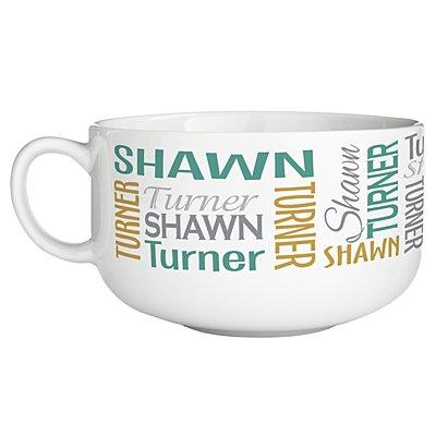 You Name It! Signature Bowl - Green/Gold-Single Bowl