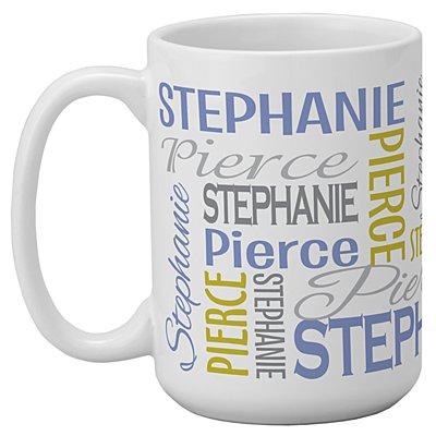 You Name It! Signature 15oz Mug-Purple/Gold-Single Mug