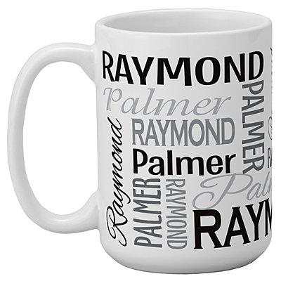 You Name It! Signature 15oz Mug-Gray-Single Mug