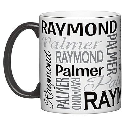 You Name It! Signature 11oz Mug-Gray-Single Mug