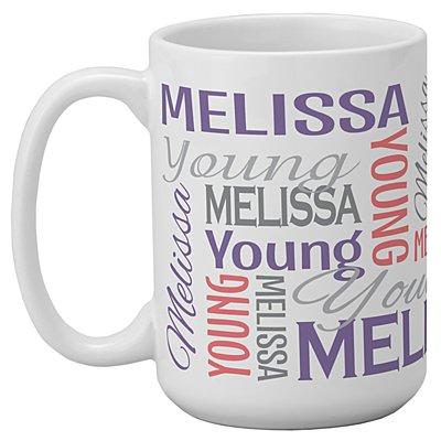 You Name It! Signature 15oz Mug -Purple/Pink-Single Mug