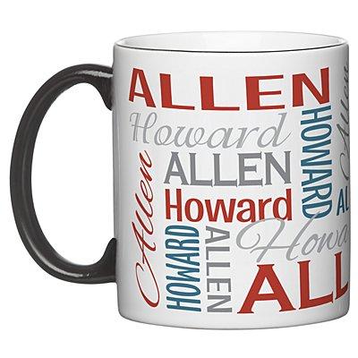 You Name It! Signature 11oz Mug-Red/Blue-Single Mug