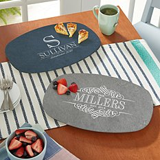 Decorative Name Platter