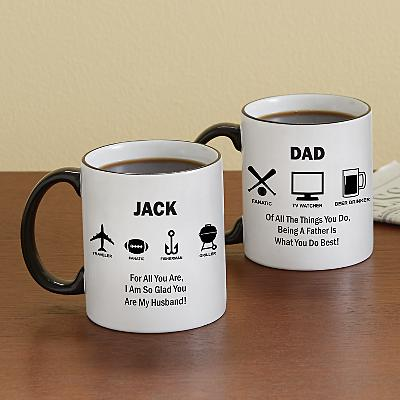 All About Him Mug