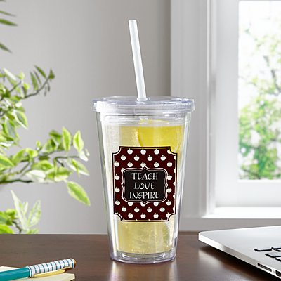 Allover Apples Tumbler