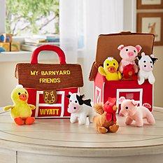 Barnyard Friends Plush Playset