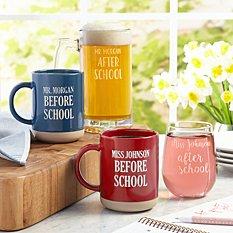 Before & After School Mug Set