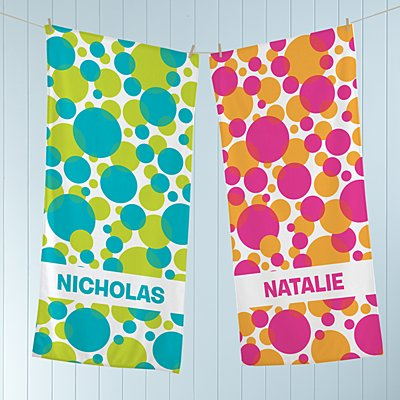 Lots Of Dots Beach Towel