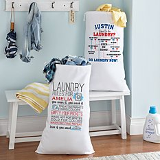 Off to School Laundry Bag