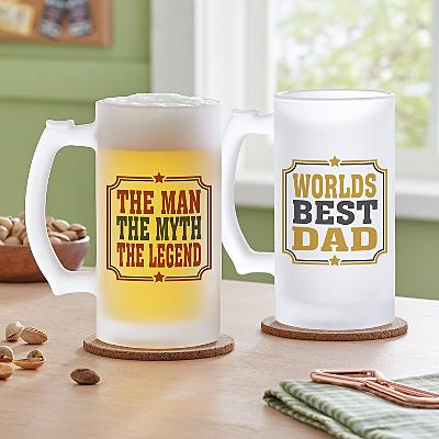 Create Your Own Frosted Beer Glass