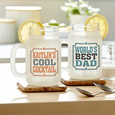 Create Your Own Frosted Mason Jar