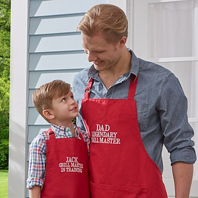 Family Fun Embroidered Grill Apron