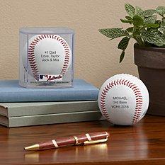 Rawlings MLB Leather Baseball
