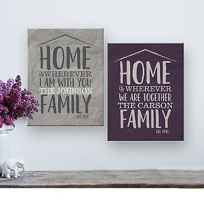 Home Is Together Canvas