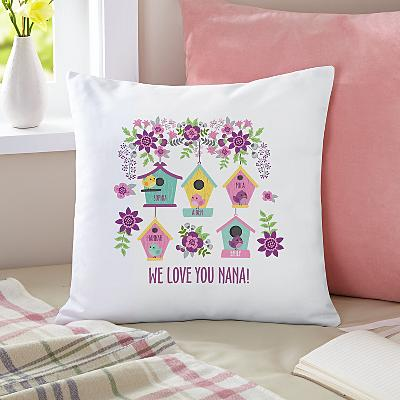 Birdie Blessings Cushion