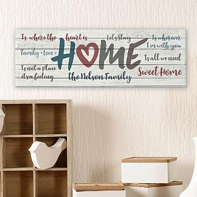 Home Is...Canvas