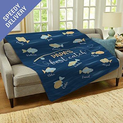 My Best Catch Plush Blanket
