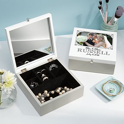 Our Special Day Photo Jewelry Box