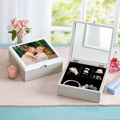 Picture Perfect Photo Jewelry Box