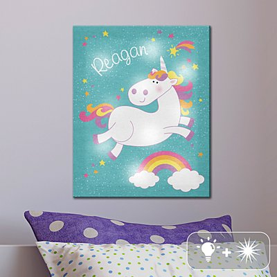 TwinkleBright® LED Magical Unicorn Canvas