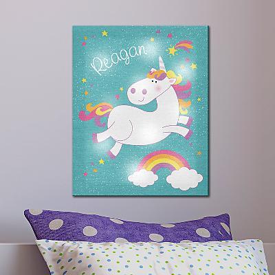 TwinkleBright® LED Magical Unicorn Canvas