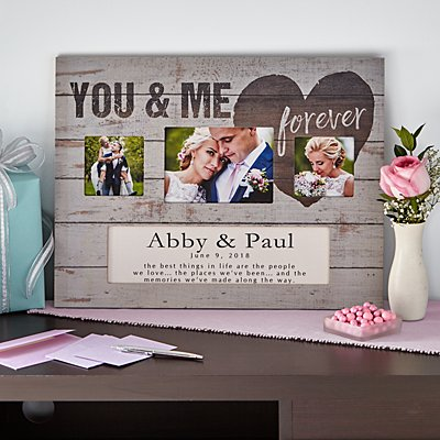 You & Me Forever Wood Frame