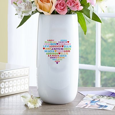 Heart Full of Love Vase