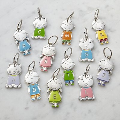 Tender Hearts Character Charm Key Ring Additional Charms