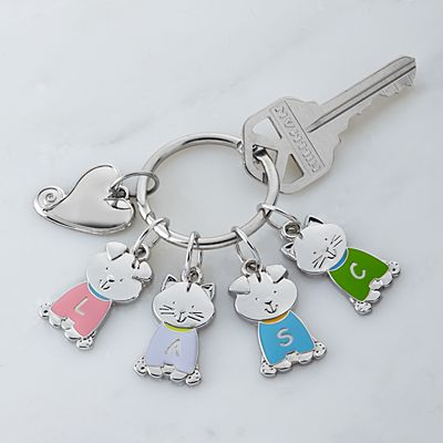 Tender Hearts Pet Charm Key Ring