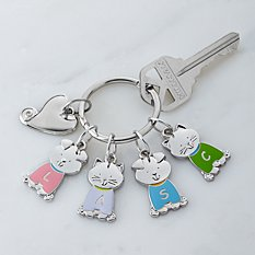 Tender Hearts Pet Charm Key Chain