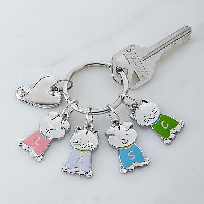 Tender Hearts Pet Charm Key Ring