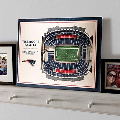 Stadium View 3D Wall Art