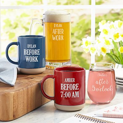 Before & After Activity Mug Set